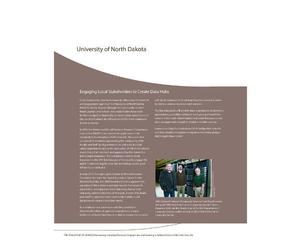 University of North Dakota Data Hubs