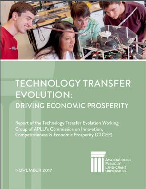 Technology Transfer Evolution Report Cover