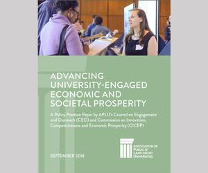 Advancing University-Engaged Economic and Societal Prosperity Cover