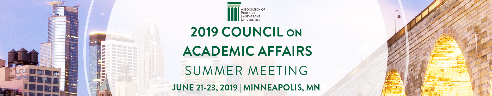 2019 Summer Meeting Banner