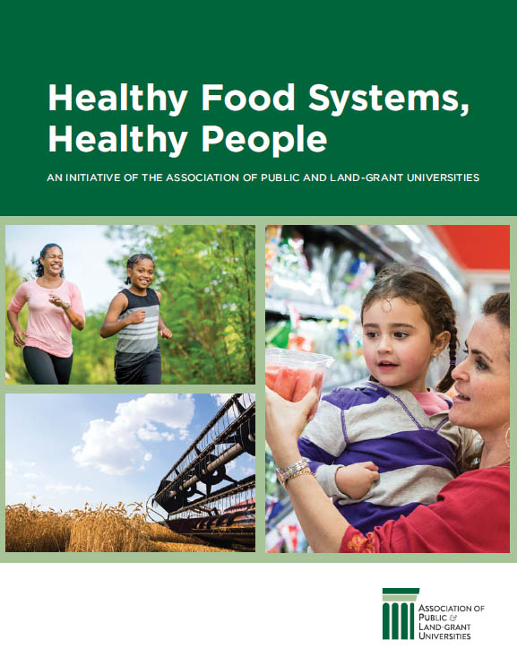 Healthy Food Systems, Healthy People Report Cover