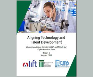 Aligning Technology and Talent Development Report Cover 3
