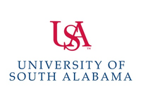 University of South Alabama logo.