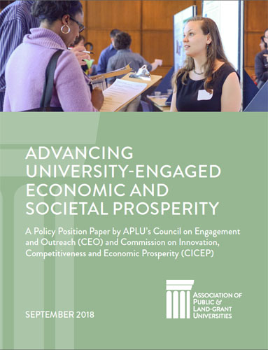 Advancing University-Engaged Economic and Social Prosperity Cover